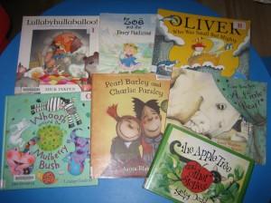 Audrey's books September