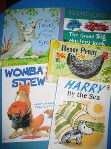 More kids' books - October