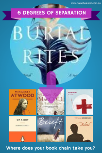 A book chain beginning at Burial Rites