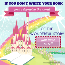 Why you shouldn't give up writing your book